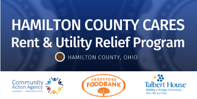 Hamilton County CARES Program in partnership with Talbert House providing rental and utility assistance