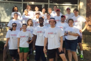 University of Cincinnati College of Law volunteers