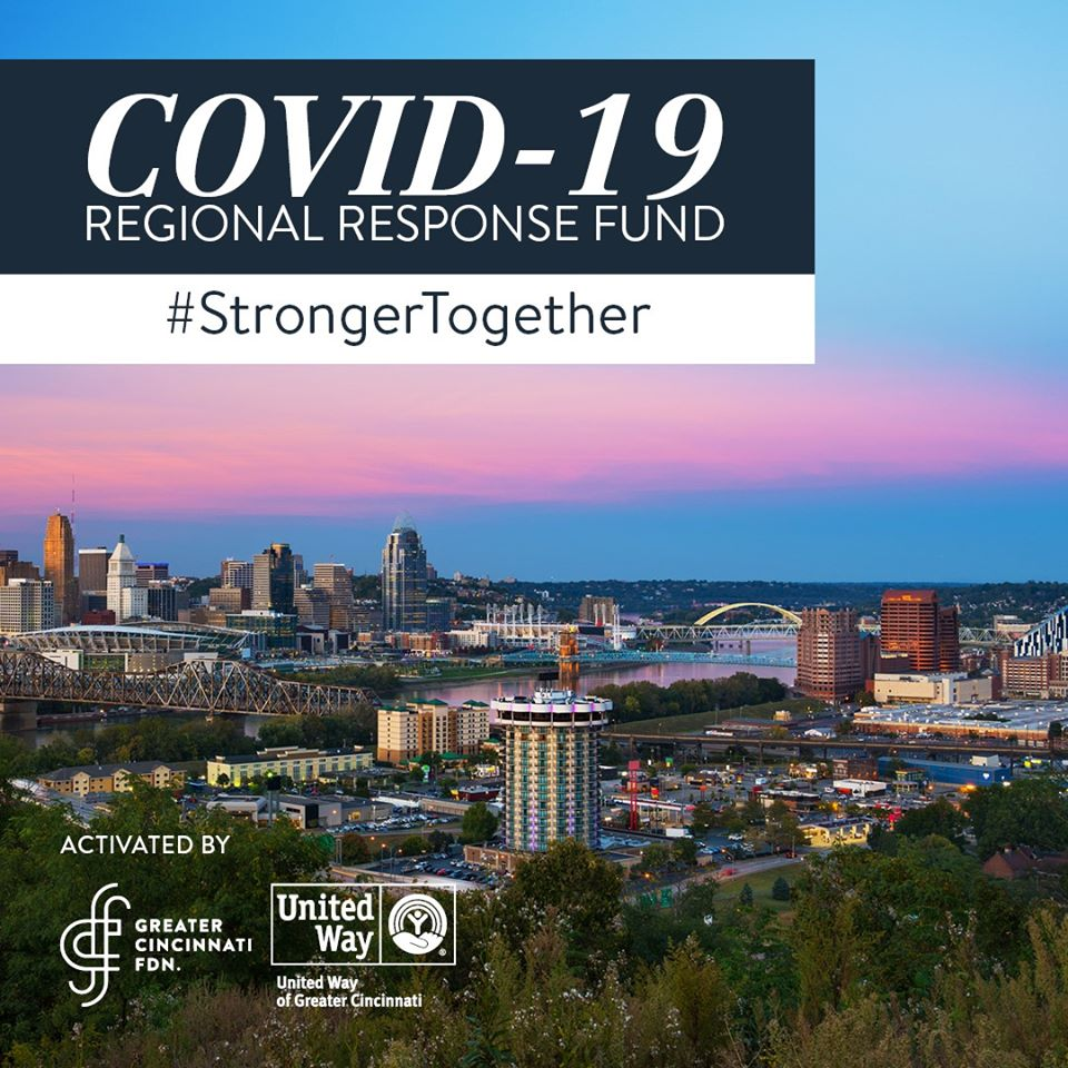 Greater Cincinnati Foundation and the United Way of Greater Cincinnati Support Talbert House through COVID-19 Regional Response Fund