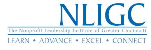 The Nonprofit Leadership Institute of Greater Cincinnati